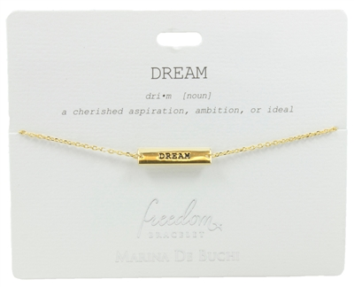 Dream Freedom Bracelet