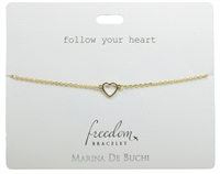 Follow Your Heart Freedom Bracelet