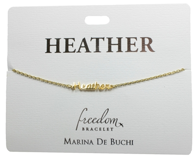 Heather Freedom Bracelet
