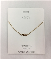 Abby Lumiela Necklace