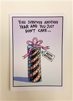 Birthday: Another Year with Aqua Net Hair - YINZER Cards