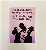 Congrats on Newborn Baby - YINZER Cards