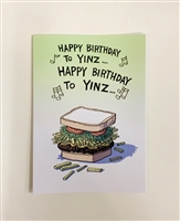Happy Birthday to Yinz - YINZER Cards