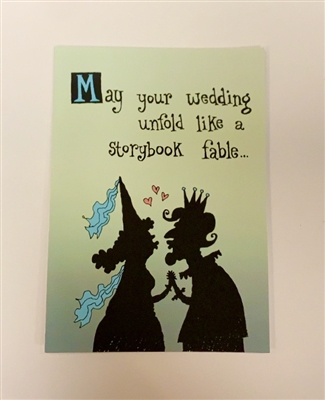 Wedding Like A Storybook Fable - YINZER Cards