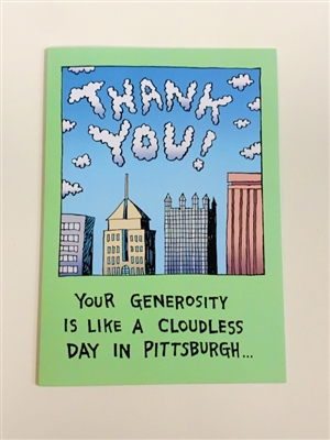 Thank You - YINZER Cards