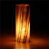 Golden Orange Onyx Lamp