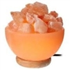 Pink Himalayan Salt Crystal Bowl