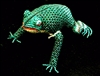 Beaded Green Frog