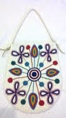 Lakota Sioux Beaded Leather Purse -Multi