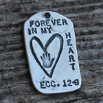 FOREVER IN MY HEART MYGODTAGS
