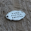Vintage Oval Personalized Tag - MYGODTAGS