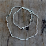 2.4MM CABLE CHAIN - SOLD BY THE INCH