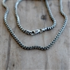 Oxidized Square Box Chain