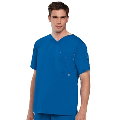 Barco 0107 - Men's 3 Pocket V-Neck Solid Scrub Top