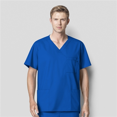 WonderWORK 103 : Men's V-Neck Solid Scrub Top