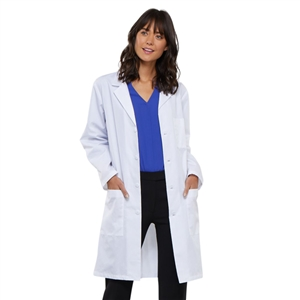 "Cherokee 1346 - Unisex Vented Back 40"" Lab Coat"