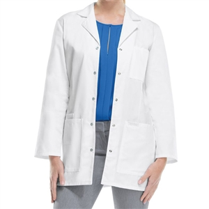 "Cherokee 1369 - Women's Snap Front Princess Seam 32"" Lab Coat"