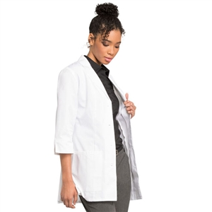 "Cherokee 1470 - Women's 3/4 Sleeve 30 1/2"" Lab Coat"