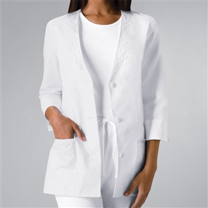 Cherokee 1491 - Women's 3/4 Sleeve Solid Scrub Jacket