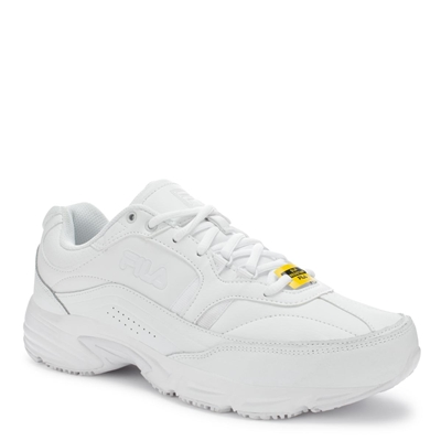 FILA 1SG30002-100 - Men's Memory Workshift Sneakers (White)