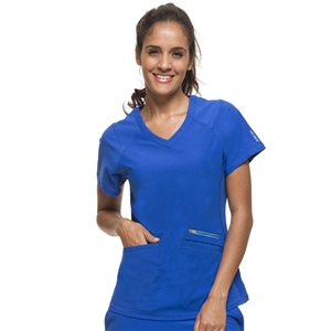 Healing Hands HH360 2284 - Women's Serena V-Neck Solid Scrub Top