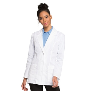 "Cherokee 2390 - Women's Daisy Embroidered 29 1/2"" Lab Coat"