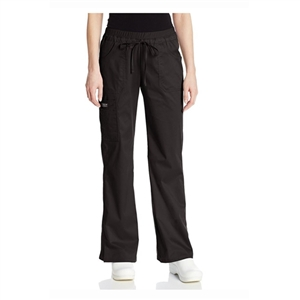 Cherokee 24001 - Core Stretch Jr. Fit Women's Low-Rise Drawstring Cargo Scrub Pant