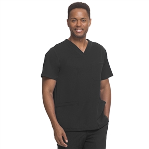 HH WORKS 2590H - Men's Matthew 4 Pocket Back Yoke V-Neck Scrub Top
