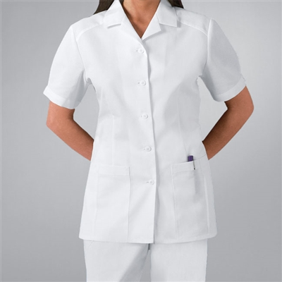 Cherokee 2880 - Women's Nurse's Pleated Solid Scrub Top