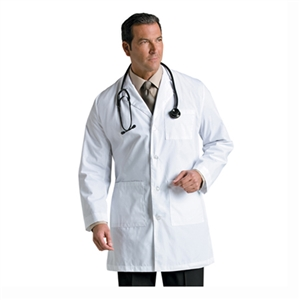 "Landau 3148 - 35 1/2"" Mens Labcoat"