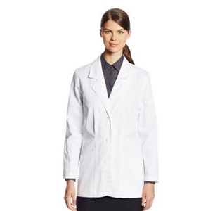 "Cherokee 348 - Women's Shaped 30"" Lab Coat"