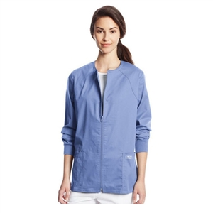 Cherokee 4315 - Core Stretch Women's Zip Front Warm-Up Scrub Jacket