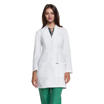"Barco 4481 - 34"" 3 Pocket Lab Coat"