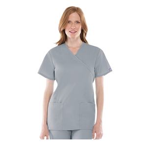 Cherokee 4801 - WW Originals Women's Mock Wrap Scrub Top