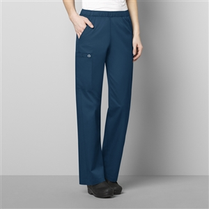 WonderWORK 501 : Women's Pull-On Cargo Solid Scrub Pant