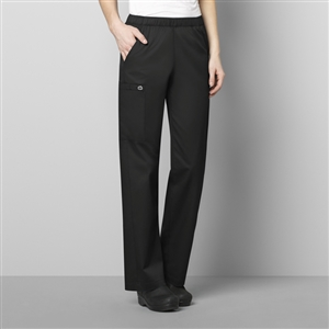 WonderWORK 501 : Women's Pull-On Cargo Solid Scrub Pant for White Oak