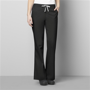 WonderWORK 502 : Women's Flare Leg Solid Scrub Pant for White Oak