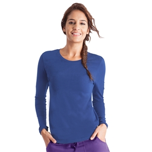 Healing Hands 5047 - Women's Melissa Long Sleeve Stretch T-Shirt