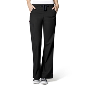 WonderWink 5308 - The 'Grace' Flare Leg Cargo Pant