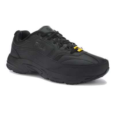 FILA 5SG30002 - Women's Memory Workshift Sneaker (Black)