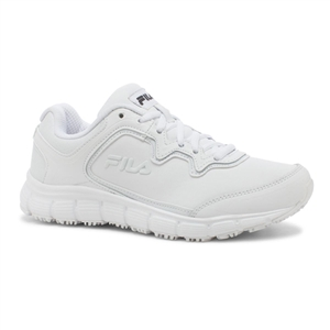 FILA 5SK26008-100 - Ladies Memory Fresh Start Sneaker (White)
