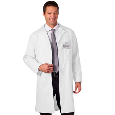 "White Swan Meta 6116 - 40"" Unisex Lab Coat"