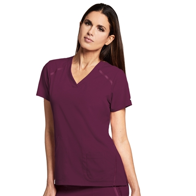 Barco 7188 - Women's V-Neck Solid Scrub Top