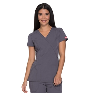 Xtreme Stretch by Dickies 85956 - Mock Wrap Top