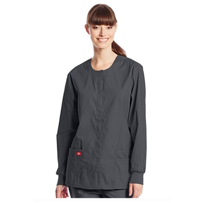 Dickies Medical 86306 - Snap Front Warm-Up Jacket