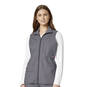 WonderWink WONDERFLEX 8908 - Women's Utility Zip Up Vest