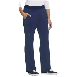 HH WORKS 9500H - Women's Rachel 6 Pocket Straight Leg Yoga Waist Scrub Pant