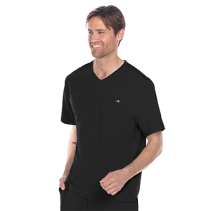 Barco One Wellness BWT010 - Men's Chest Pocket Scrub Top