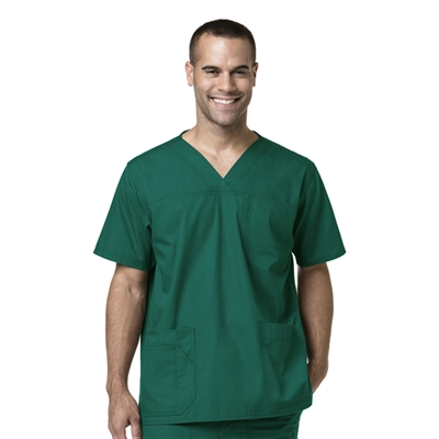 Carhartt Ripstop C15208A - Men's Ripstop Multi-Pocket Scrub Top