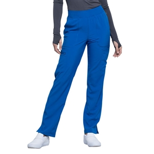 Cherokee CK065A - Infinity Women's Mid Rise Tapered Leg Pull-On Scrub Pant